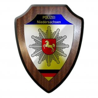 Polizei Niedersachsen Wappen Abzeichen Hannover Beamten Wappenschild #23070