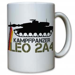 Leo 2A4 Leopard 2 Kampfpanzer Panzermann Soldat Panzer - Tasse #10206 t