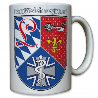 Sanitätslehrregiment - SanLehrReg Bundeswehr Deutschland Militär - Tasse #9088