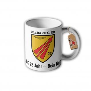Tasse FlaRakBtl 22 Flugabwehrraketengruppe Batallion Luftwaffe MIM-104 #31613