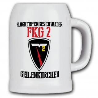 Krug / Bierkrug 0, 5l - FKG 2 Flugkörpergeschwader Bundeswehr Wappen #33422