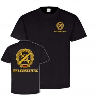T Shirt Instandsetzung Budneswehr Abzeichen Wappen Emblem Bund Fahrzeuge #24085