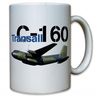 Transall C-160 Luftwaffe Bundeswehr Bund Bw Flugzeug - Tasse #11344 t