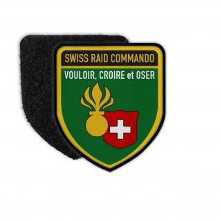 Patch Swiss Raid Commando Schweizer Armee Militärwettkampf Schweiz Heer #31780