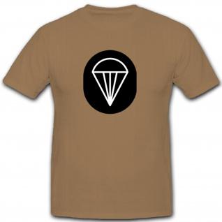 Fallschirm Dienst Abzeichen NVA DDR Fallschirmjäger Militär - T Shirt #7910