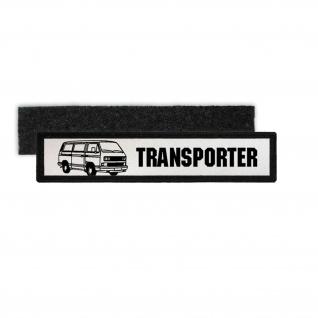 Patch T3 Transporter Bulli Bus Lkw Oldtimer Kult Auto Volks Namensschild #7180