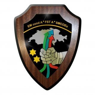 Wappenschild - Führungsstab der Armee FST A Schweiz Militär Abzeichen #11914