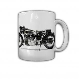 HRD Vincent Straßen Touring Oldtimer Motorrad Rennsport - Tasse #26830