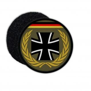 Patch Bundeswehr Veteran BW Auslands Einsatz Kreuz Deutschland Aufnäher #24424