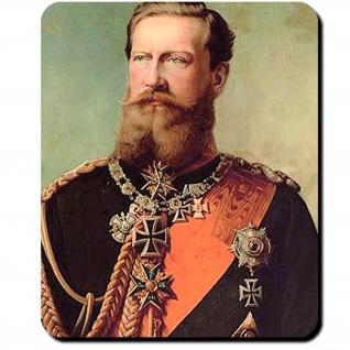 Friedrich III Preußen Friedrich Wilhelm Nikolaus Karl von Preußen Mauspad #16392