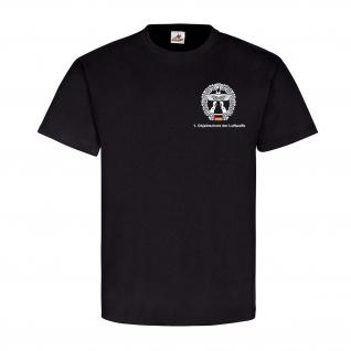 1 Objektschutz der Luftwaffe Version 2 Bund Truppe Wappen T Shirt#25109