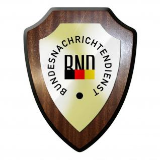 Wappenschild / Wandschild - BND Bundesnachrichtendienst Geheimdienst #11991