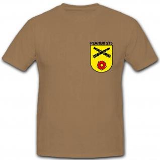 Heer Panzerartilleriebataillon 215 Bundeswehr Militär Einheit T Shirt #1926