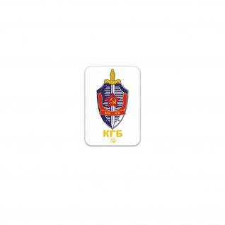 Aufkleber/Sticker KGB Komitee für Staatssicherheit Ministerrat UdSSR 5x7cm A3533