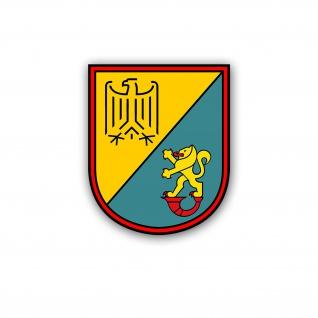 Aufkleber/Sticker GSA Nord 3 Bundesgrenzschutz Bundespolizei BGS 11x8, 5 cm A5150