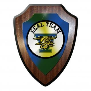Wappenschild / Wandschild -SEAL Team 5 USA US Kampfschwimmer Emblem Amerika#9857