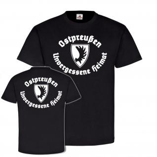 Ostpreußen Unvergessene Heimat TYP2 Preußen Elch geweih Wappen #21995