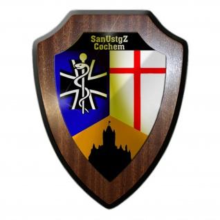 Wappenschild/Wandschild - SanUstgZ Cochem Sanitätsunterstützungszentrum #15840