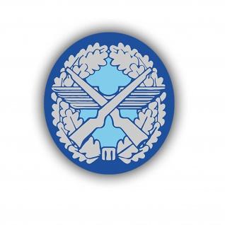 Aufkleber/Sticker Sicherungstruppführer Luftwaffe Wappen Orden 7x6cm A719