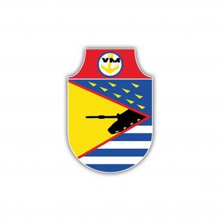 Aufkleber/Sticker Landungskräfte NVA Abzeichen Militär Emblem 7x5cm A1229