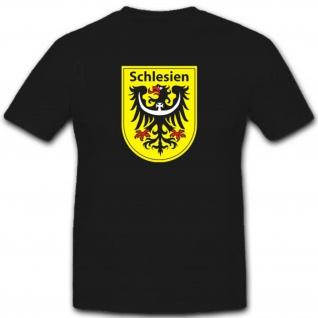 Schlesien Polen Deutschland Wappen Abzeichen Emblem - T Shirt #3148