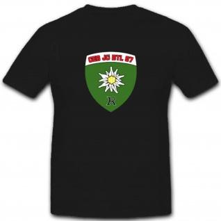GebJgBtl87 Gebirgsjägerbataillon 87 Heer Militär Einheit Wappen T Shirt #3504