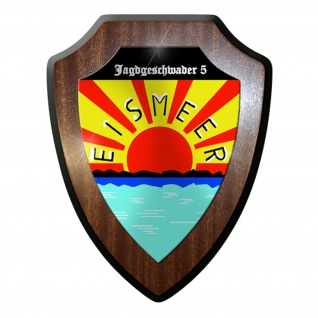 Wappenschild / Wandschild - Jagdgeschwader 5 JG 5 Eismeer WK 2 Luftwaffe #8402