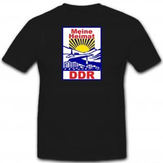 Ddr Ost Deutschland Demokratische Republik - T Shirt Herren #3115