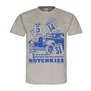 History Hotchkiss Oldtimer Auto Werbung Werbeanzeige Poster-Plakat KFZ #24934