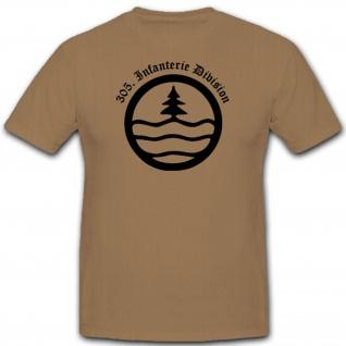 305 Infdiv 305 Infanterie Division Wh Wappen Abzeichen Emblem - T Shirt #3047
