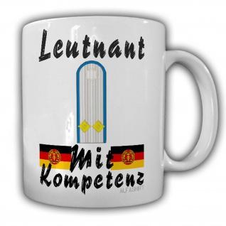 Leutnant der Fliegereinheit Lask Tasse DDR Genosse Schulterklappe NVA #24223