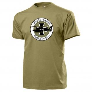 Heeresflieger BW EC135 Heer BW Bückeburg Wappen Abzeichen Heli T Shirt #18106