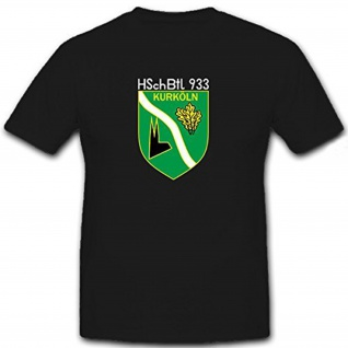 HSchBtl 933 Heimatschutz Bataillon KurKöln Bundeswehr Bund - T Shirt #12310