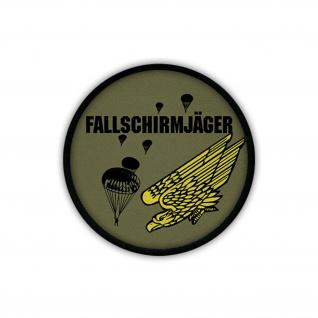 Patch/Aufnäher - Fallschirmjäger Luftlandetruppen sprung Teufel Kompanie #19559