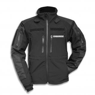 Tactical Softshell Jacke Gendarmerie Staatlich Ordnung Sicherheit Polizei #30186