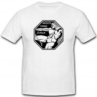 Stormo Caccia Einheit Wappen Abzeichen Militär Wk Italien - T Shirt #2678