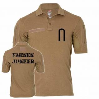 Tactical Poloshirt Alfa - Fahnenjunker Aufschiebeschlaufe Unteroffizier #19104