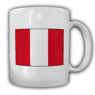 Republik Peru Fahne Flagge Kaffee Becher Tasse #13859