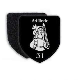 Patch Artillerie 31 Heilige Barbara Bundeswehr Wappen Abzeichen#22018