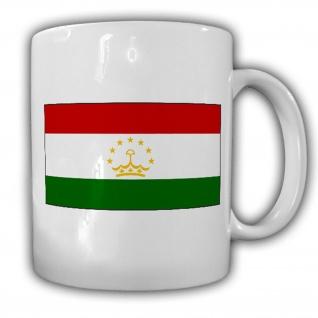 Tasse Republik Tadschikistan Fahne Flagge Kaffee Becher #13934