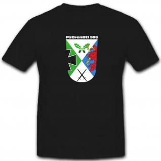 PzGrenBtl908 Panzergrenadierbataillon 908 Bundeswehr Panzer T Shirt #3470