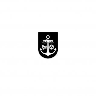 Aufkleber/Sticker MKüsDstSch Marineküstendienstschule Seebataillon 5x7cm A3457
