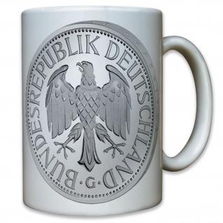 Deutsche D Mark Währung Bundesrepublik Deutschland Münze Geld - Tasse #10469 T