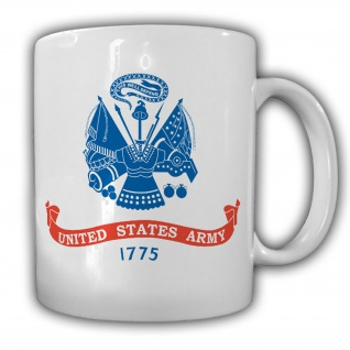 UNITED STATES ARMY 1775 US Amerika USA Fahne Wappen - Tasse #14294
