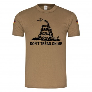 BW Tropen Gadsden flag DONT TREAD ON ME US Army Klapperschlange Amerika #18702