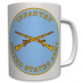 Infantry US Army Militär USA - Tasse Becher Kaffee #6261