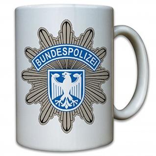 Bundespolizei Wappen BPOL Abzeichen Sonderpolizei Bundes Adler - Tasse #9790