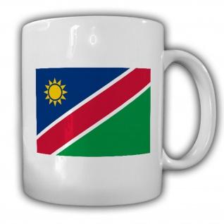 Republik Namibia Fahne Flagge Kaffee Becher Tasse #13816