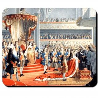 Königsberg Krönung Kurfürst Friedrich III Preuße 1701 Hohenzoller Mauspad #16402