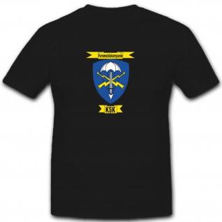 Kommando Spezialkräfte Ksk Bundeswehr Wappen Abzeichen - T Shirt #3864
